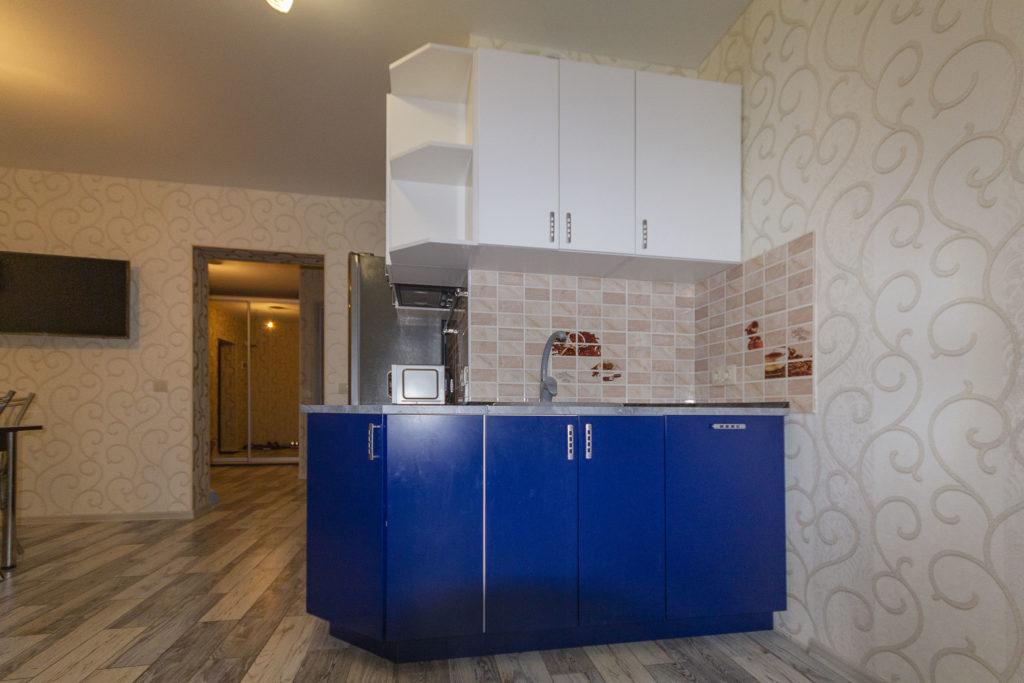 Двухкомнатная квартира в новом доме с ремонтом 17