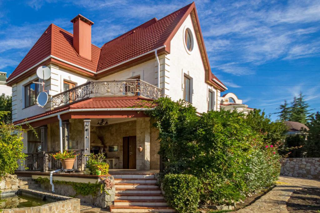 Дом в Никите с видом на море 1