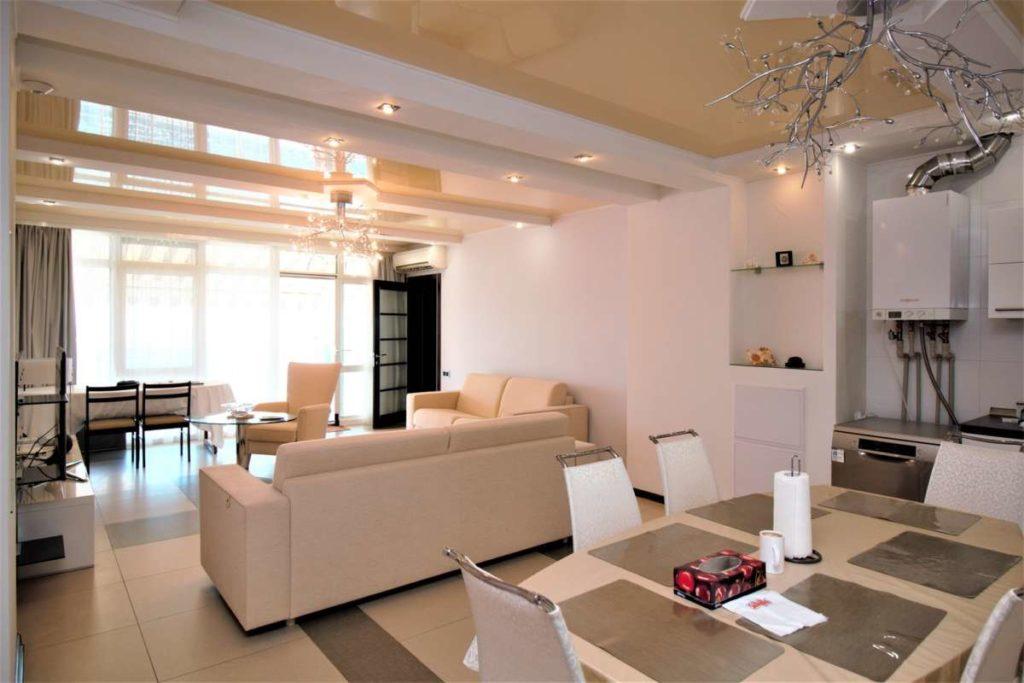 3х комнатная дизайнерская квартира в ЖК Лазурный Элит 3