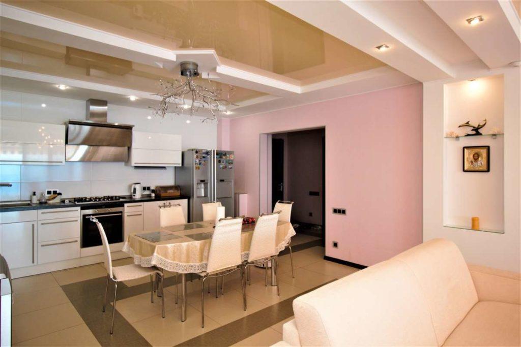 3х комнатная дизайнерская квартира в ЖК Лазурный Элит 6