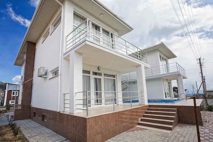 Дом в стиле хайтек пгт. Кореиз 1
